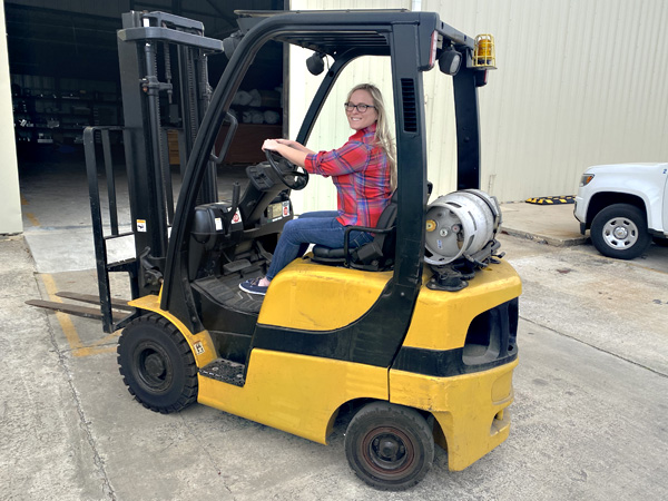Commercial Propane Delivery for Forklifts